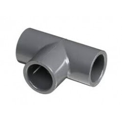 RACCORDO A T PVC INCOLLAGGIO PN16 DE 32 x 1