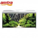 ACQUARIO AMTRA SYSTEM 80 LED WHIT E ROOT BACKGROUND