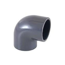 GOMITO 90^ PVC INCOL. PN16 DE 40 x 11/4