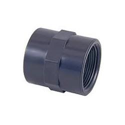 MANICOTTO PVC INCOL./FILET. PN16 DE 20 x 1/2