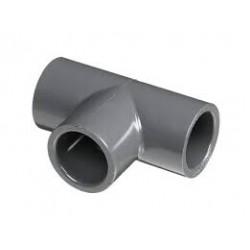 RACCORDO A T PVC INCOLLAGGIO PN16 DE 25 x 3/4