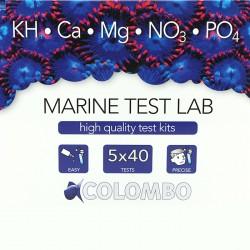 TEST MARINE LAB COLOMBO